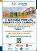 """Cartel de la  II MARCHA VIRTUAL """"ADAPTANDO CAMINOS"""""""